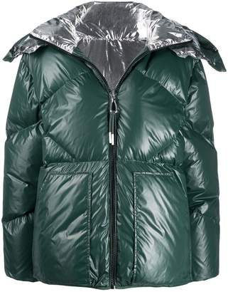 Sandro Paris reversible puffer jacket