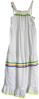 Mira Mikati White Cotton Dresses