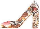J.Crew Etta studded-heel pumps