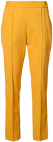 Rosie Assoulin tailored slim-fit trousers - women - Linen/Flax/Spandex/Elastane/Viscose - 4