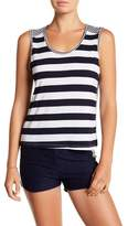 C&C California Kirri Boxy Striped Tank