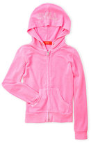 Butter Shoes Girls 7-16) Ribbed Zip-Up Hoodie