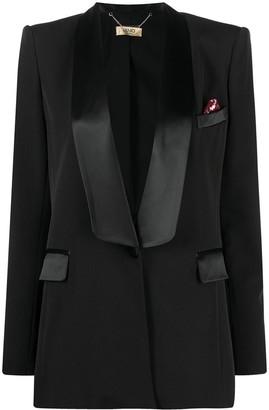 Liu Jo Plunge-Front Blazer