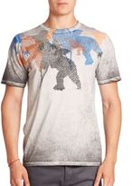 PRPS Acid Wash Graphic Print Tee
