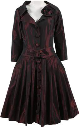Teri Jon Red Polyester Dresses