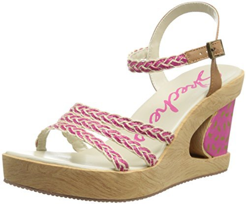 Skechers Women's Peep A Boo Wedge Sandal