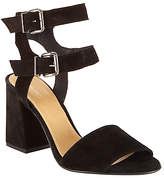John Lewis Joli Double Strap Block Heeled Sandals, Black