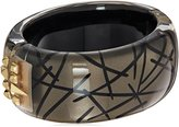 Alexis Bittar Studded Hinge Bangle Bracelet