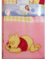 Disney Winnie The Pooh Piglet Fleece Blanket - Pink