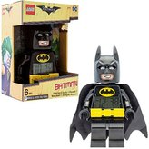 Lego Batman Movie Batman Kids Minifigure Alarm Clock | black/yelow | plastic | 9.5 inches tall | LCD display | boy girl | official