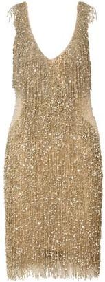 Naeem Khan Embellished Tulle Dress