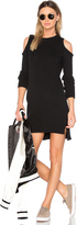 Central Park West Asheville Cold Shoulder Sweater Dress