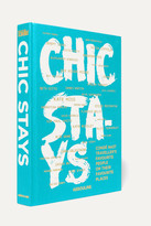 Assouline Chic Stays By Condé Nast Traveler Hardcover Book - Turquoise