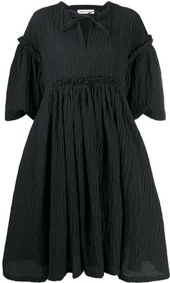 Henrik Vibskov Short-Sleeved Frill Detail Dress