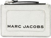 Marc Jacobs The Metallic Textured Box top zip multi wallet