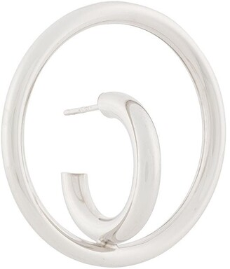 Charlotte Chesnais Saturn Blow large earring