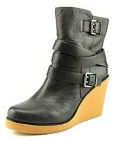BCBGeneration Finland Round Toe Leather Ankle Boot.