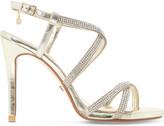 Dune Mansionn leather high heeled sandals