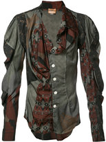 Vivienne Westwood mutton sleeve printed shirt