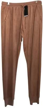 BCBGMAXAZRIA \N Orange Trousers for Women
