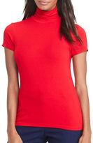 Lauren Ralph Lauren Solid Jersey Top