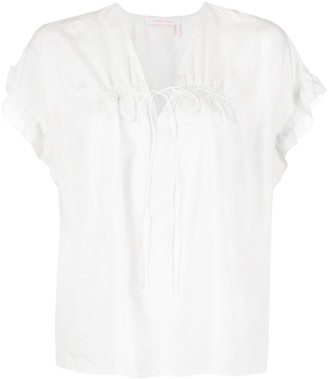 See by Chloe Ruffled Sleeves Blouse