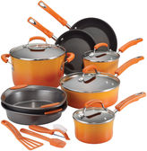 Rachael Ray 15-pc. Porcelain Cookware Set