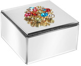 Jay Import Jewelry Box with Brooch
