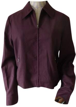 Wood Wood \N Burgundy Jacket for Women