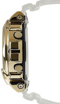 G-Shock Gold Ion-Plated Stainless Steel & Resin Digital Watch