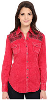 Rock and Roll Cowgirl Long Sleeve Snap B4S6400