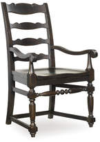 Hooker Furniture Treviso Ladderback Arm Chair (Set of 2)