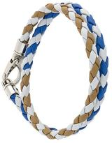 Tod's interlaced leather bracelet