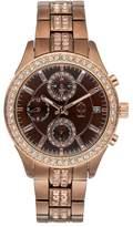 JLO by Jennifer Lopez Women's Marilyn Crystal Watch