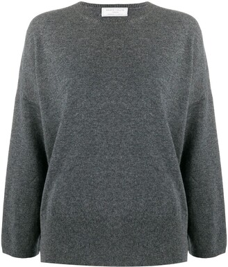 Societe Anonyme Crop Sleeve Cashmere Jumper