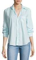 Frank And Eileen Eileen Long-Sleeve Button-Front Shirt, Aqua