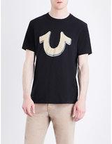 True Religion Horseshoe-motif Cotton-jersey T-shirt