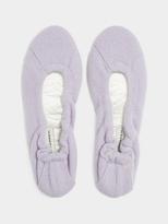 White + Warren Cashmere Ballet Slippers