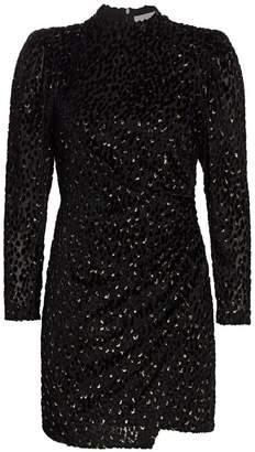 A.L.C. Jane Velvet Mini Dress