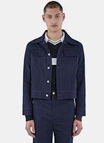 Wales Bonner Men's Syms Denim Jacket In Indigo
