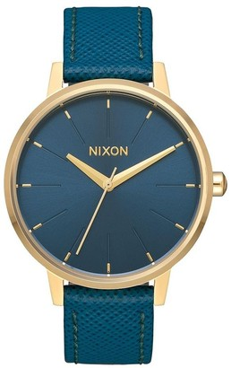Nixon Women's Analogue Quartz Watch with Leather Strap A108-2816-00