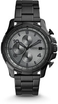Fossil Dean Chronograph Black Stainless Steel Watch