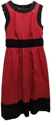 Prada Red Cotton Dresses