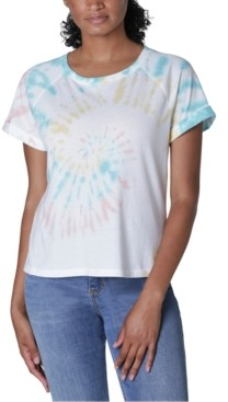 Ultra Flirt Juniors' Tie-Dye T-Shirt