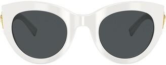 Versace Oversized Cat-Eye Sunglasses