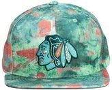 Mitchell & Ness Chicago Blackhawks Paint Splatter Snapback - Green
