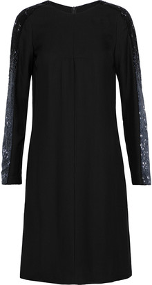 Amanda Wakeley Bead-embellished Twill Dress