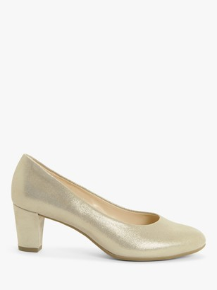 Peter Kaiser Jenna Leather Court Shoes, Natural