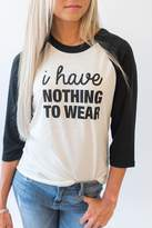 Ampersand Avenue I Have Nothing to Wear Tee