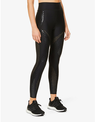 ULTRACOR Crocodile print high-rise stretch-jersey leggings